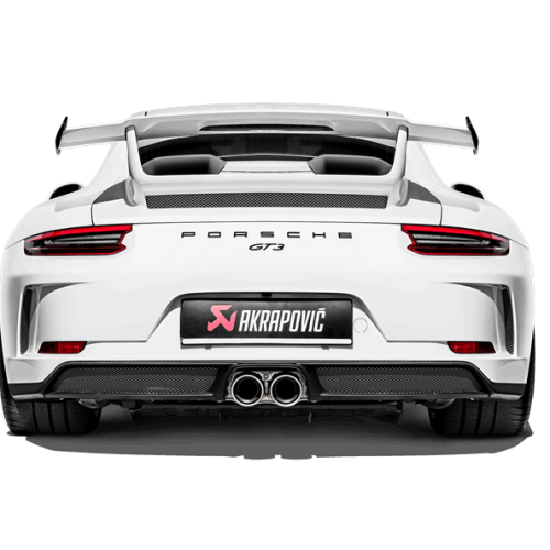 Akrapovic 2018-2019 Porsche GT3 991.2 Slip-On Race Line Titanium Exhaust