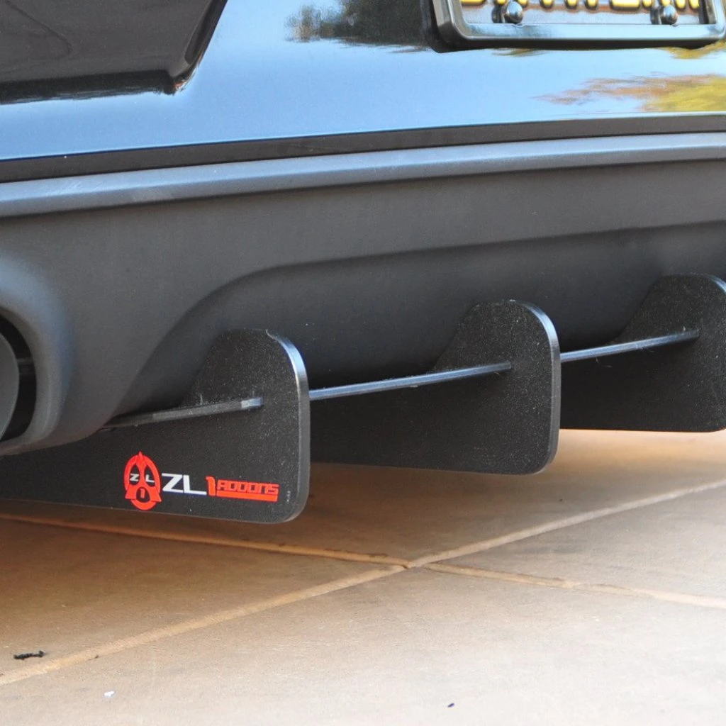 Zl1 Addons 2015 2020 Dodge Charger Rear Diffuser Function Factory Performance