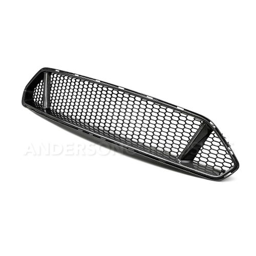 2018-2019 FORD MUSTANG TYPE-GT Type-GT carbon fiber upper grille for 2018 Ford Mustang