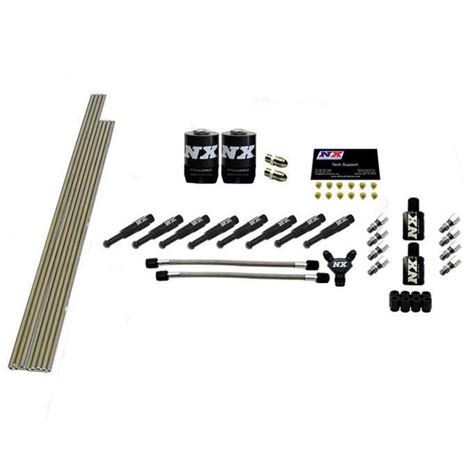 Nitrous 8-CYL 1/8 Dry Nozzle Intake Plumbing Kit