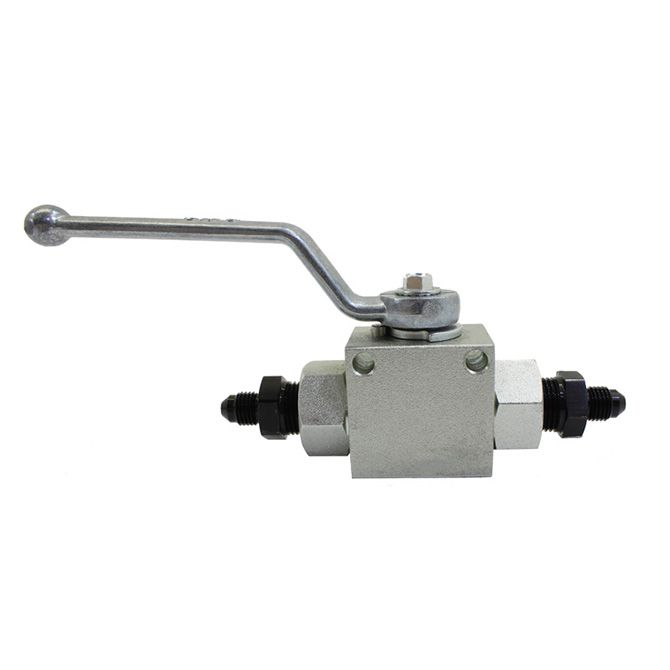 Nitrous Remote Shutoff Nitrous Valve, 4AN male inlet and outlet
