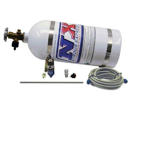 Nitrous SIMULATOR FULL SHOW PURGE KIT (INCL. 10LB BOTTLE, AND ALL NECESSARY HARDWARE)