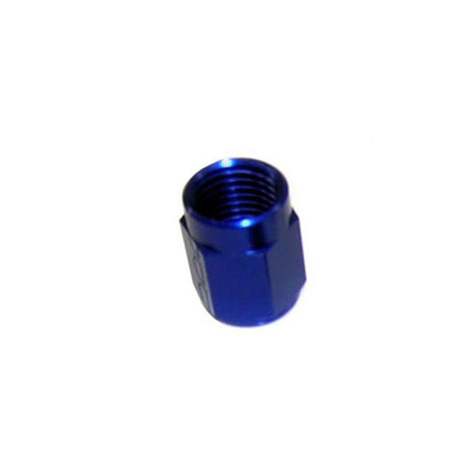 Nitrous 8AN BLUE B-NUT (QTY 1)