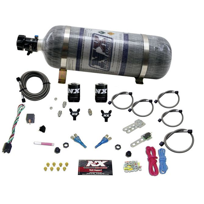Nitrous FORD EFI DUAL NOZZLE (100-300HP) WITH COMPOSITE BOTTLE