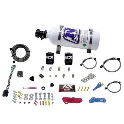 Nitrous GM EFI RACE (100-150-200-250HP) SINGLE NOZZLE WITH 5LB BOTTLE