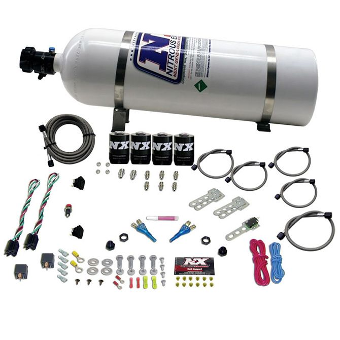 Nitrous GM EFI DUAL STAGE (50-150HP X 2) WITH 15LB BOTTLE
