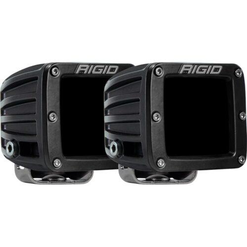 RIGID D-Series PRO LED Light, Spot Optic, Infrared, Surface Mount, Pair