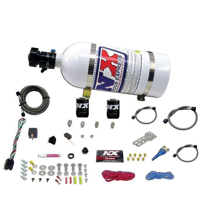 Nitrous DODGE EFI RACE (100-150-200-250HP) SINGLE NOZZLE WITH 10LB BOTTLE