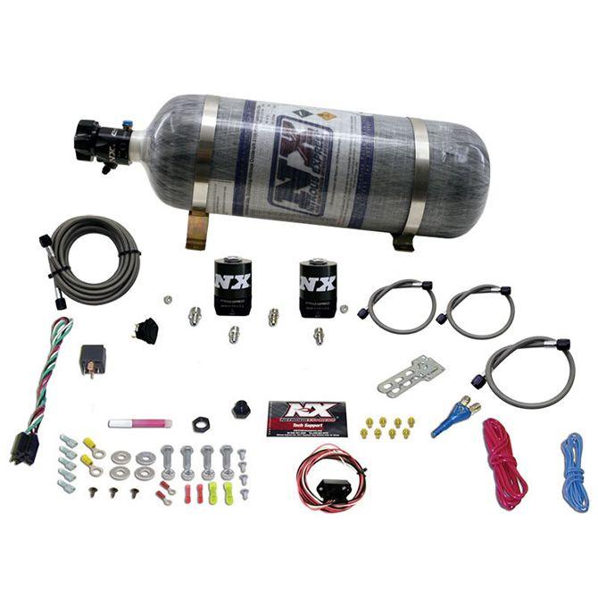 Nitrous 5TH GEN CAMARO SINGLE NOZZLE SYSTEM (35-150HP) W/ COMPOSITE BOTTLE