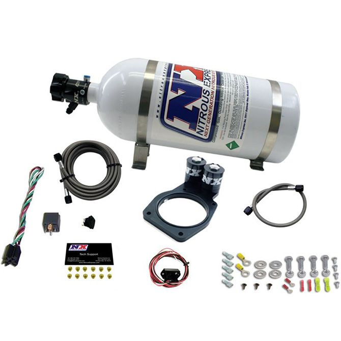 Nitrous 5TH GEN CAMARO PLATE SYSTEM (50-150HP) 200HP-225HP JETTING AVAILABLE 10LB BOTTLE