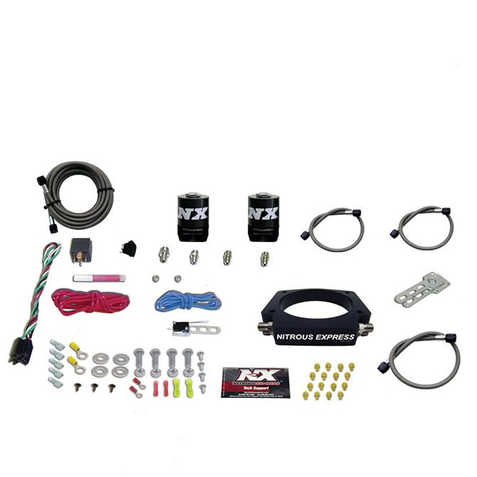 Nitrous LS 102mm PLATE SYSTEM (50-400HP) WITHOUT BOTTLE