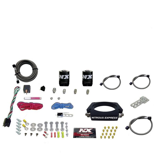Nitrous LS 90mm PLATE SYSTEM (50-400HP) WITHOUT BOTTLE