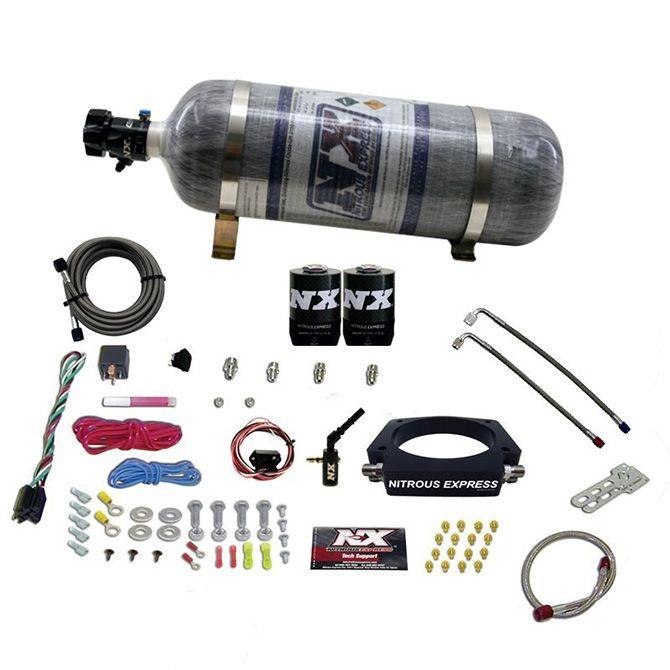 Nitrous 2014-NEWER GM 6.2L TRUCK NITROUS PLATE SYSTEM (35-300HP) W/ COMPOSITE BOTTLE