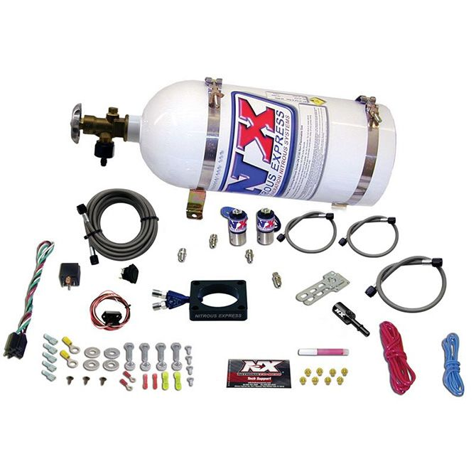Nitrous DODGE DART 1.4L Turbo PLATE SYSTEM (35-100HP) WITH 10LB BOTTLE
