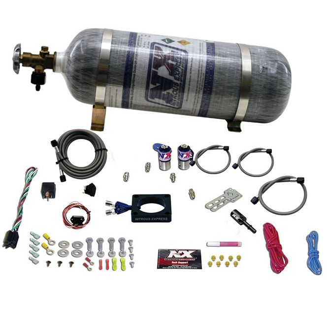 Nitrous DODGE DART 1.4L Turbo PLATE SYSTEM (35-100HP) WITH COMPOSITE BOTTLE