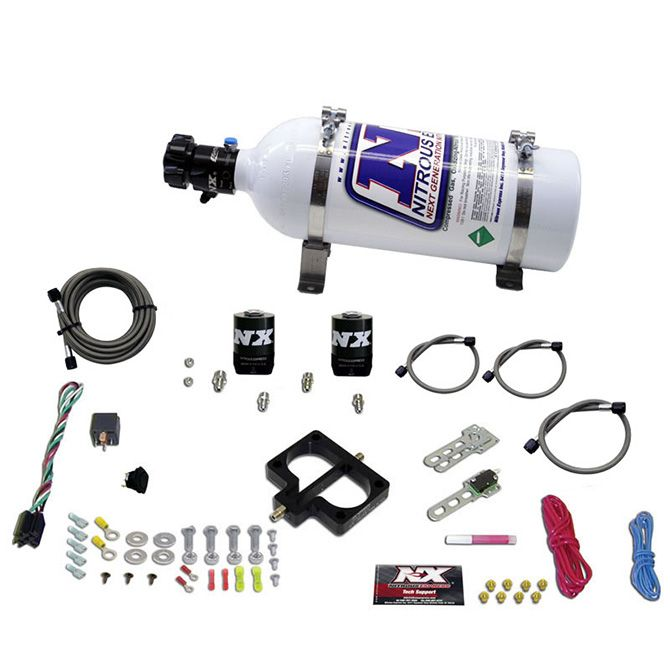 Nitrous DODGE TBI PLATE SYSTEM (MAGNUM ENGINE) W/ 5LB BOTTLE