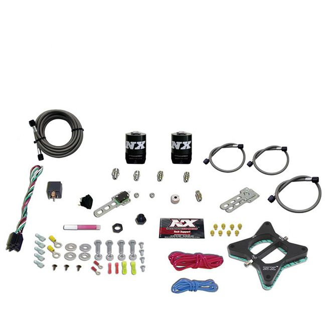 Nitrous 4.6L 2 VALVE PLATE SYSTEM (50-150HP) 200-300HP JETTING AVAILABLE LESS BOTTLE