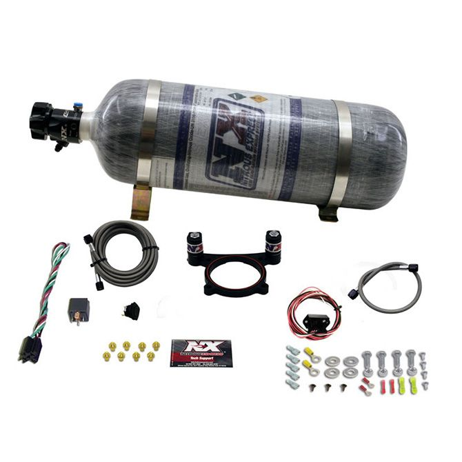 Nitrous 5.0L 4 VALVE COYOTE PLATE SYSTEM (50-200HP) WITH COMPOSITE BOTTLE