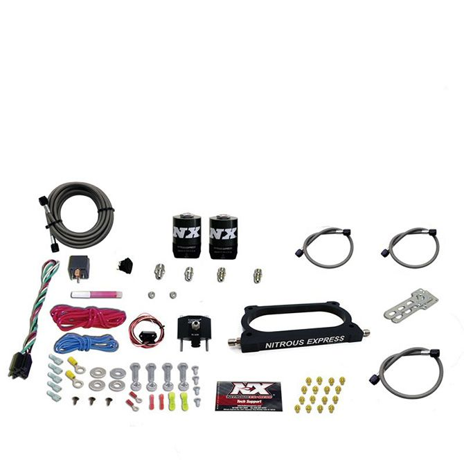 Nitrous GT500 NITROUS PLATE SYSTEM (50-250HP) WITHOUT BOTTLE