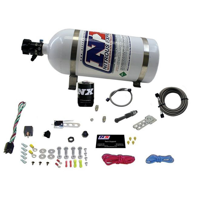 Nitrous DRY EFI SINGLE NOZZLE SYSTEM (35-150HP) LESS BOTTLE