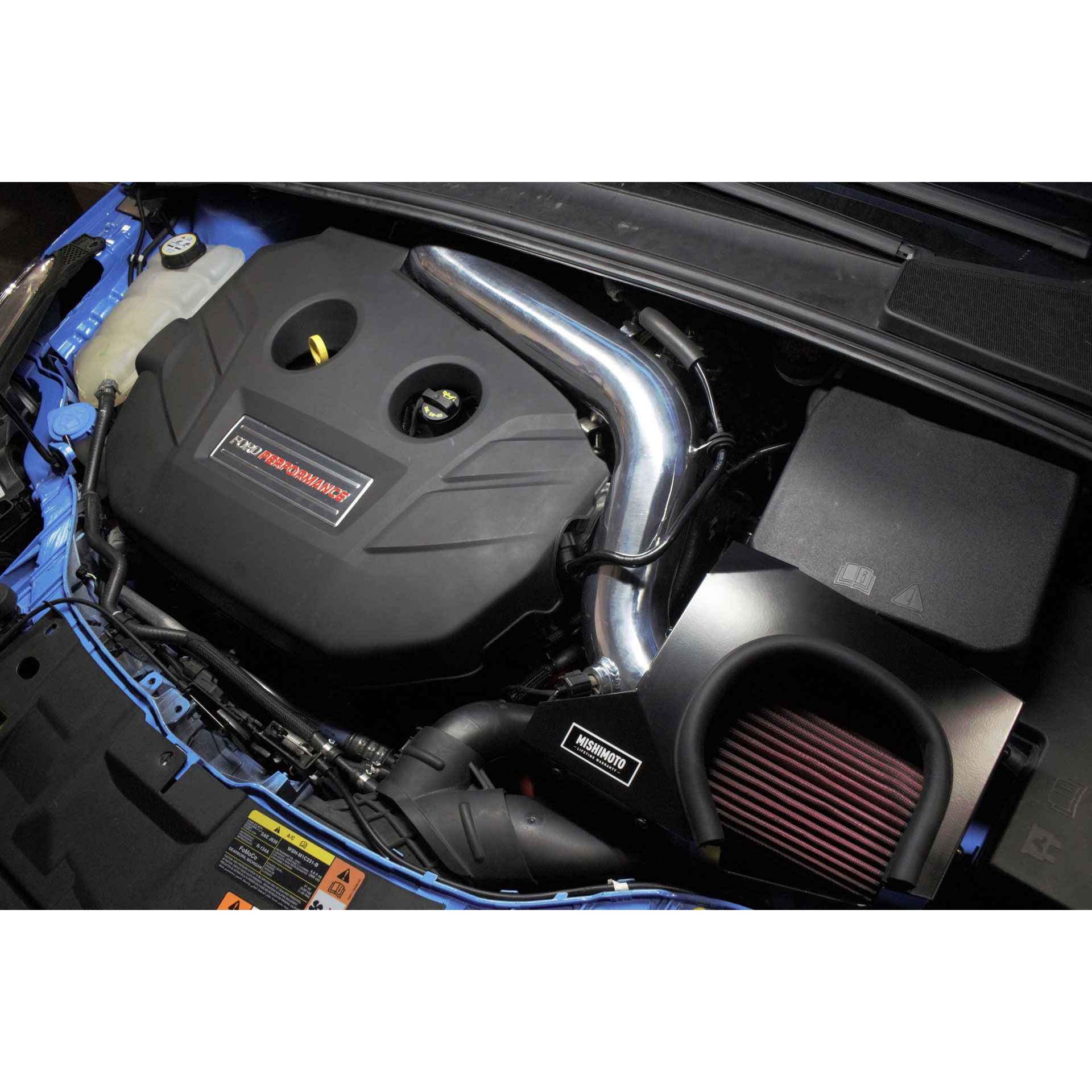 Mishimoto Ford Focus RS Performance Air Intake, 2016-2018