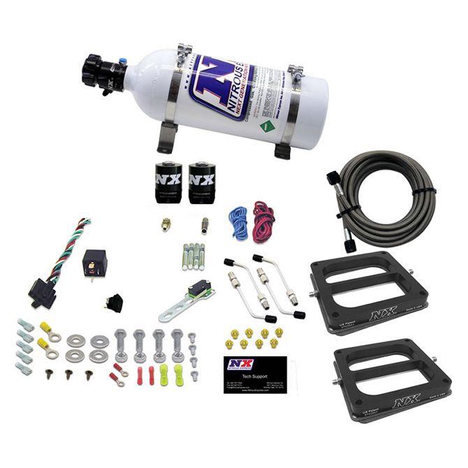 Nitrous DUAL/Dominator/GASOLINE (50-100-150-200-250-300HP) WITH 5LB BOTTLE