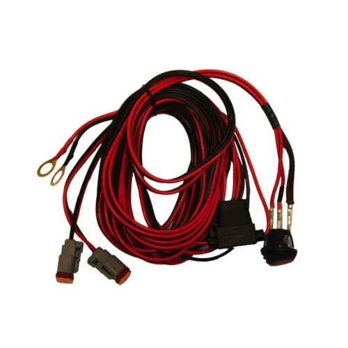 RIGID Wire Harness, Fits D-Series Pair And SR-Q Series Pair With 4 LEDs