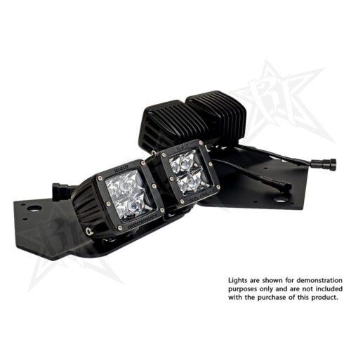 RIGID 2009-2014 Ford Raptor Fog Mount Kit, Fits 4 D-Series or Radiance Pods