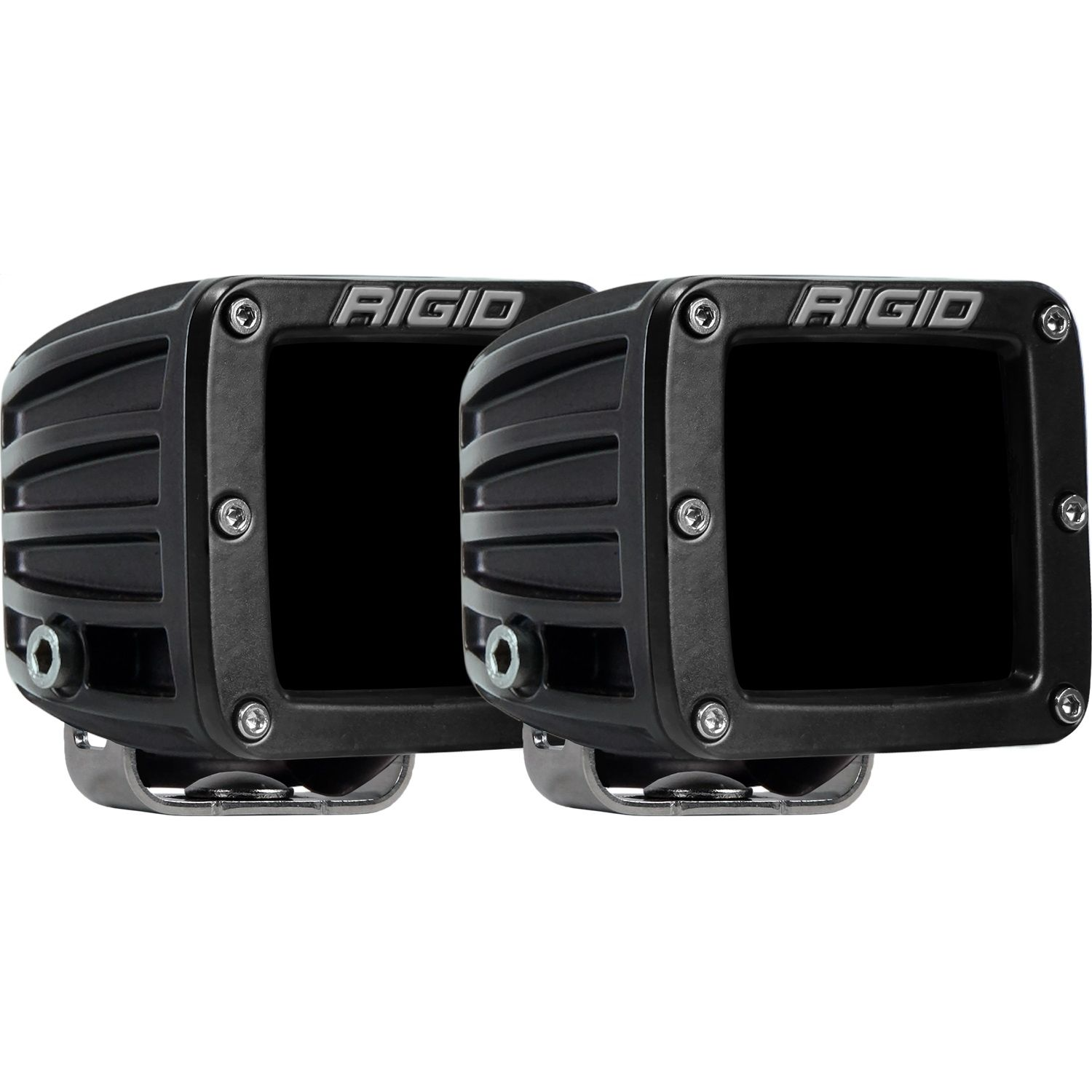 RIGID D-Series PRO LED Light, Driving Optic, Infrared, Surface Mount, Pair