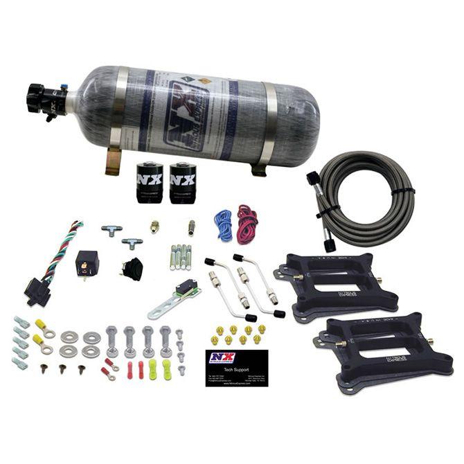Nitrous DUAL 4150/ALCOHOL (100-200-300-400-500HP) WITH COMPOSITE BOTTLE
