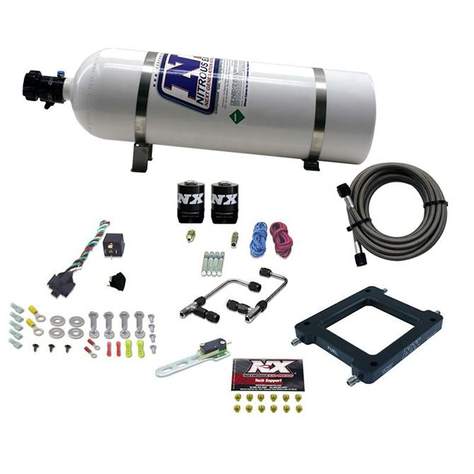 Nitrous Dominator Gemini STAGE 6 (50-100-150-200-250-300HP) WITH 15LB BOTTLE