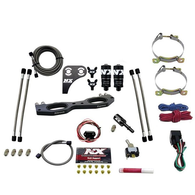Nitrous 900cc RZR PLATE SYSTEM WITH NO BOTTLE