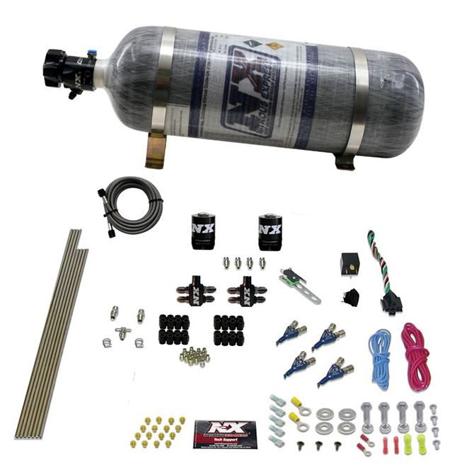 Nitrous 4CYL GASOLINE EFI (50-250HP) WITH COMPOSITE BOTTLE