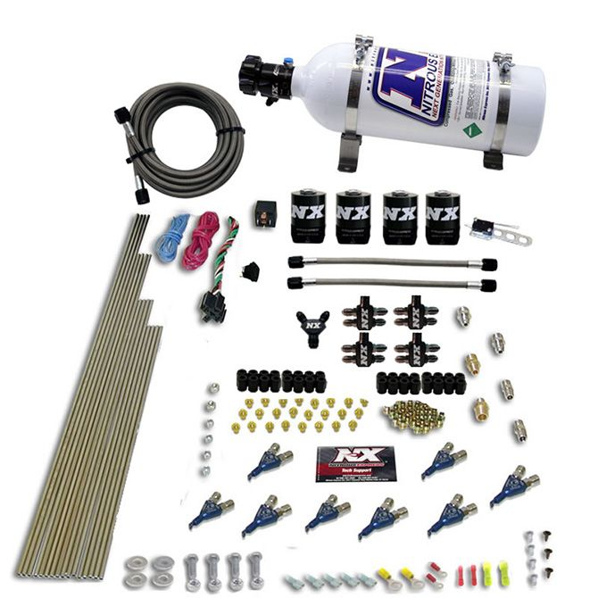 Nitrous 8-CYL ALCOHOL (250-350-450-550HP) WITH 5LB BOTTLE