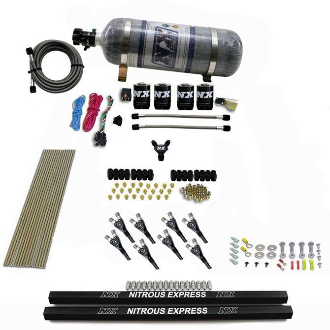 Nitrous PRO-SHK/GAS (200,300,400,500,600HP) W/ RAILS AND COMPOSITE BOTTLE