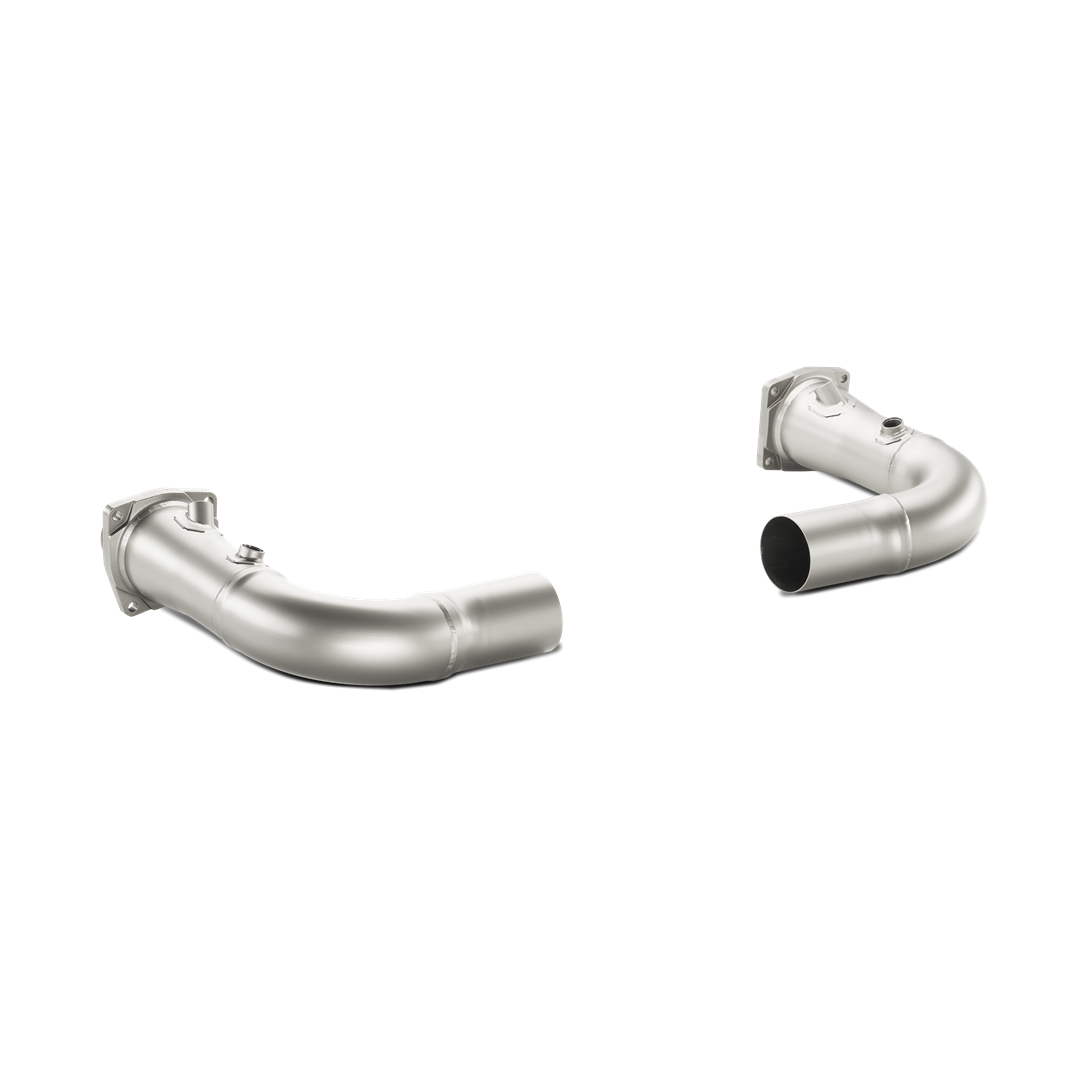 Akrapovic 2014-2015 Porsche Link-Pipe Set w/o Cat (Titanium)