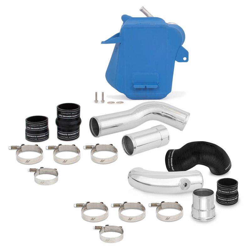 Mishimoto Ford 6.7L Powerstroke Air-to-Water Performance Intercooler Kit, 2011+