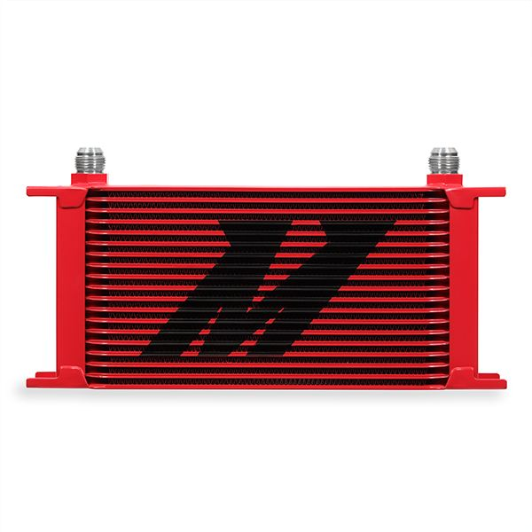 Mishimoto Universal 19-Row Oil Cooler, Red