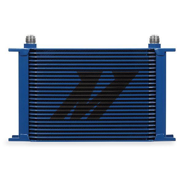 Mishimoto Universal 25-Row Oil Cooler, Blue