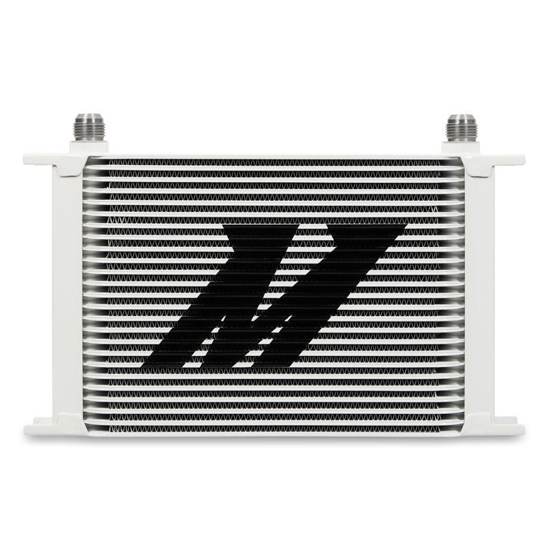 Mishimoto Universal 25-Row Oil Cooler, White
