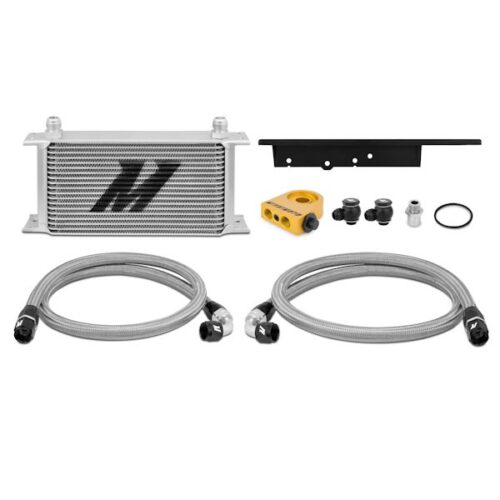 Mishimoto 03-09 Nissan 350Z / 03-07 Infiniti G35 (Coupe only) Oil Cooler Kit, Thermostatic