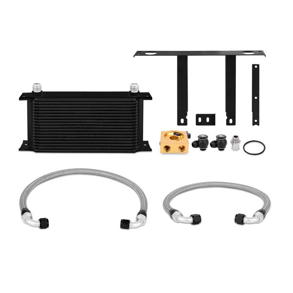 Mishimoto Hyundai Genesis Coupe 2.0T Thermostatic Oil Cooler Kit, Black