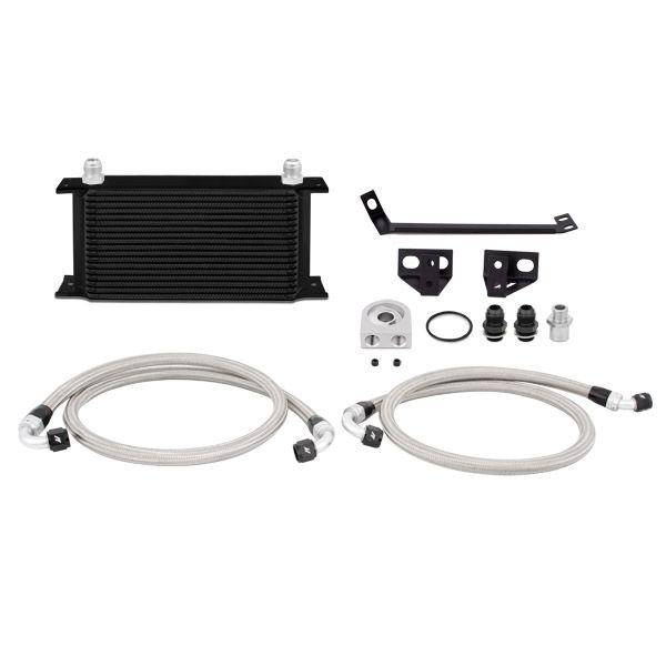 Mishimoto Ford Mustang EcoBoost Oil Cooler Kit, 2015-2017, Black
