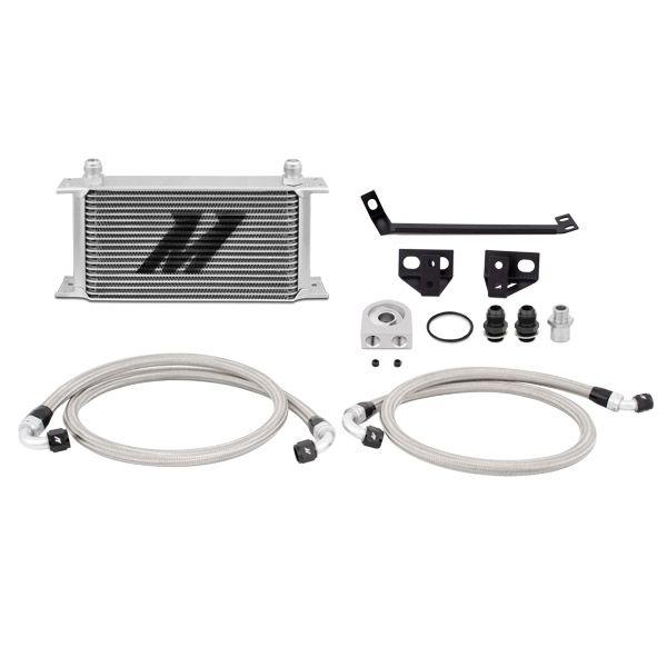 Mishimoto Ford Mustang EcoBoost Oil Cooler Kit, 2015-2017, Silver