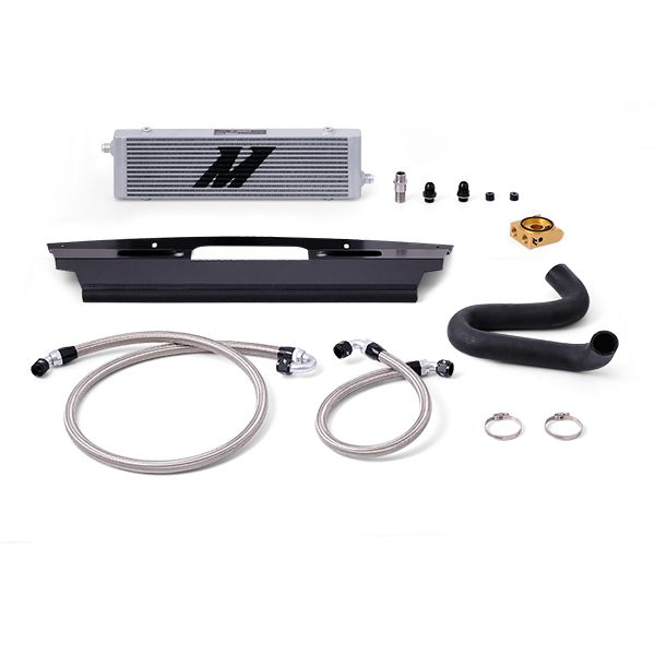 Mishimoto Ford Mustang GT Silver Oil Cooler Kit, 2015-2017