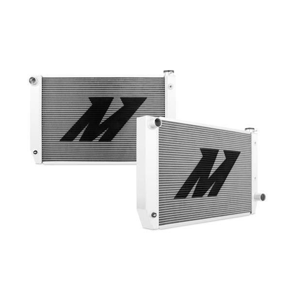 Mishimoto Universal Circle Track Aluminum Radiator, 31.0 In. x 19.0 In. x 3.0 In.