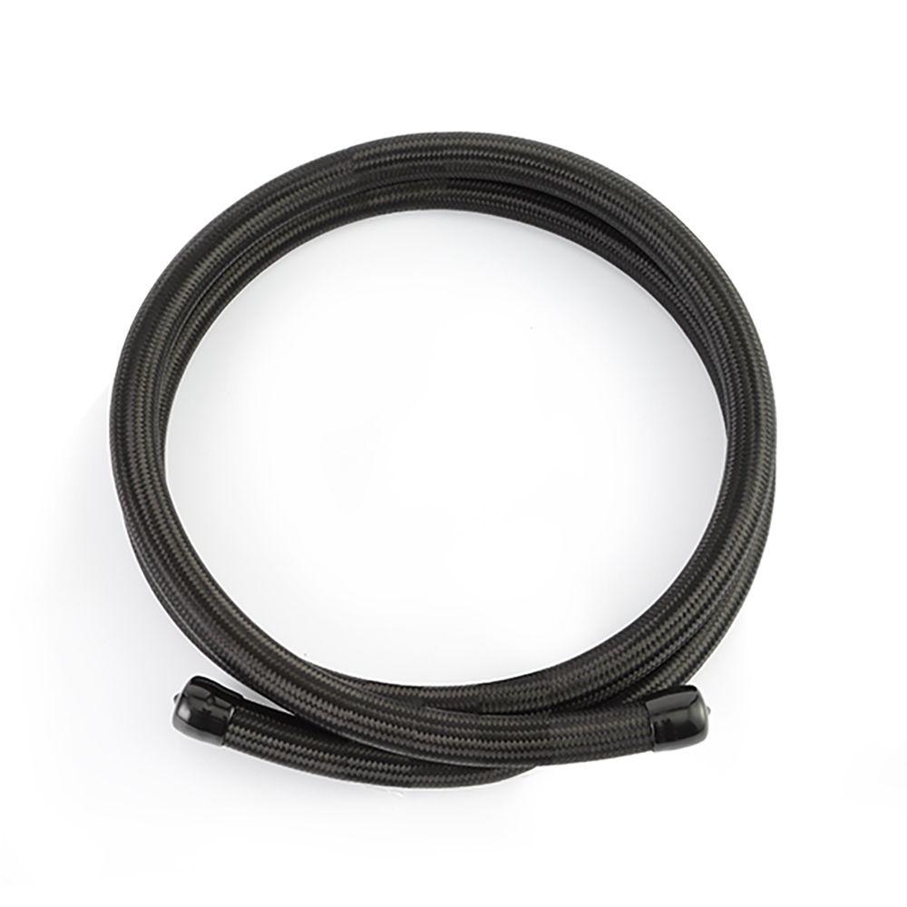 -10AN Braided Line, Black Nylon - 6ft
