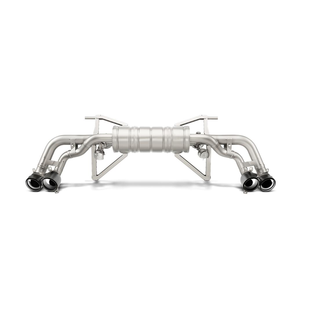 Akrapovic 2014-2018 Lamborghini Slip-On Line (Titanium)