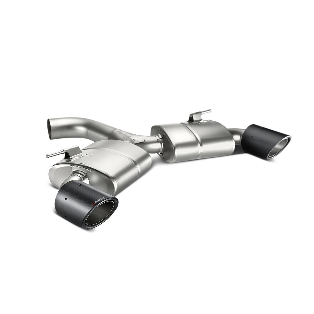 Akrapovic 2013-2016 Volkswagen Slip-On Race Line (Titanium)