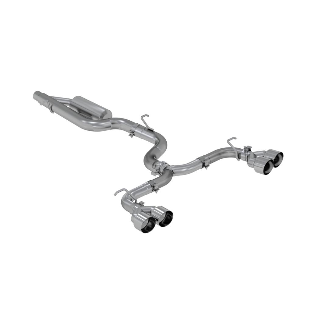 "MBRP PRO Series Volkswagen 3"" Cat Back Quad Rear Exhaust"